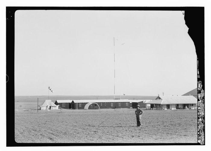 مطار غزّة عام 1935