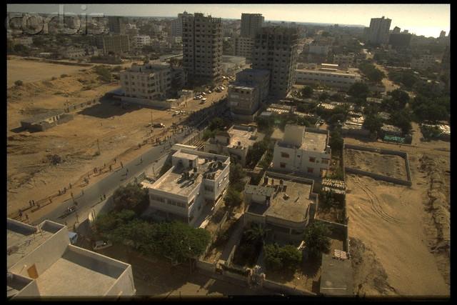 مشهد من الطائرة لغزة 1994