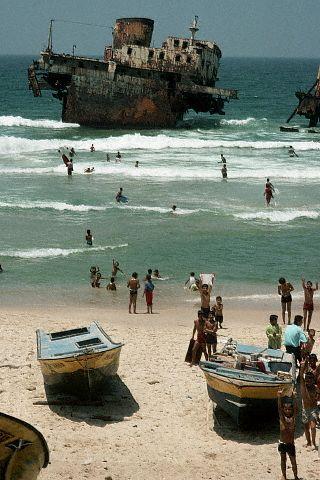مخيّم الشاطئ 1988