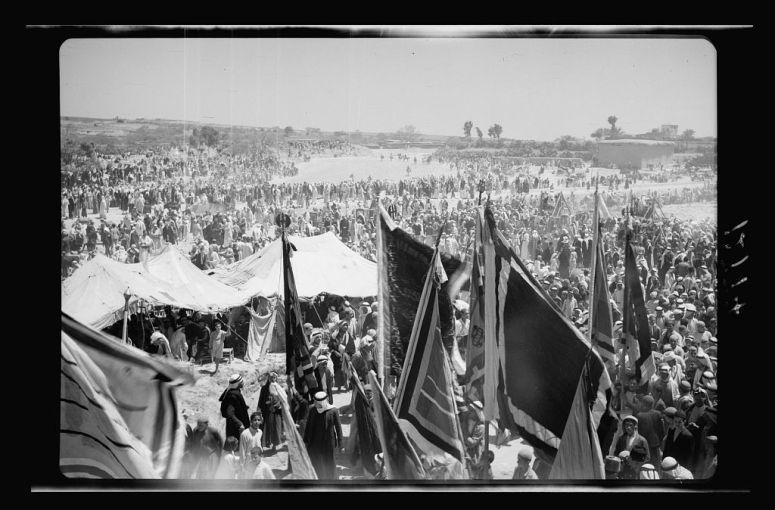 شعائر دينيّة في منطقة المنطار عام 1943 - 1