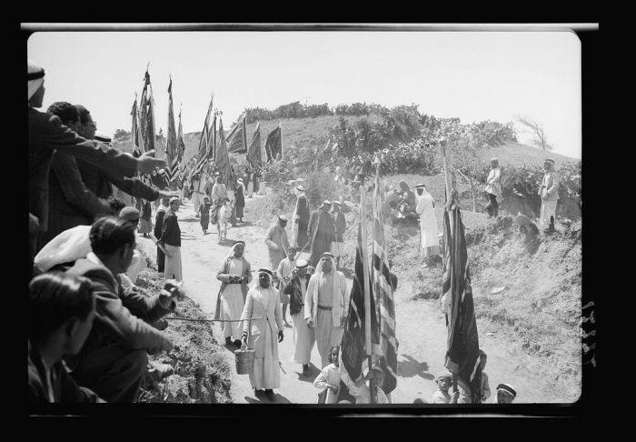 شعائر دينيّة في منطقة المنطار عام 1943 - 3
