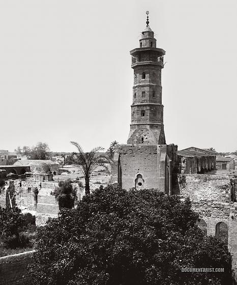 مسجد غزّة - المسجد العمري الكبير من الشرق