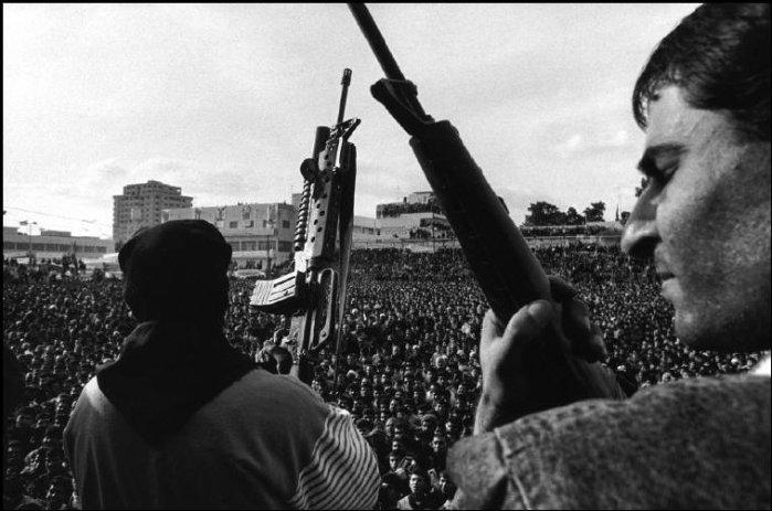 حماس تنظّم مهرجان بعد اغتيال يحيى عيّاش