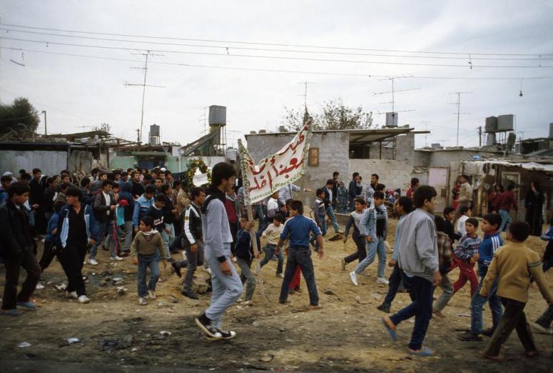 مظاهرة عام 1987
