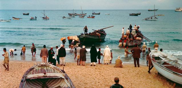شاطئ غزّة 1970