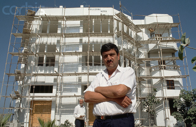فندق فلسطين قيدد الانشاء 1 سبتتمبر 1993