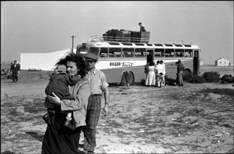 مُهاجرون يهود يصلون من رومانيا قرب غزّة