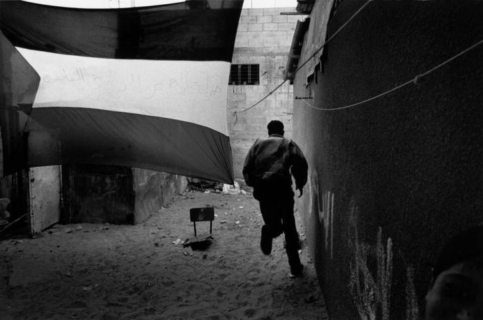 هبة جماهيريّة بعد مقتل استشهاد احد أعضاء منظمة التحرير على الحدود المصريّة في مايو 1993