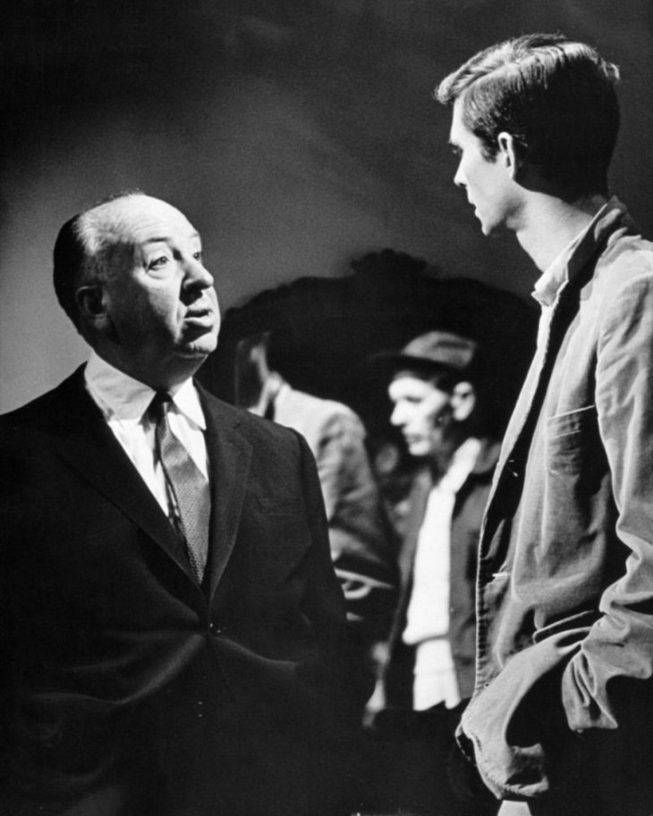 alfred-hitchcock-anthony-perkins-on-the-set-of-psycho-1960